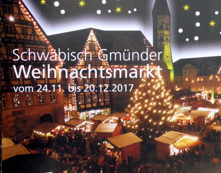 Schwäbisch Gmünd Weihnachtsmarkt.Atelier Art5 11chen Am Gmünder Weihnachtsmarkt 2017